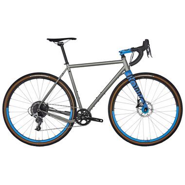 Vélo de Gravel RONDO RUUT ST GRAVEL PLUS Sram Rival 1 40 Dents Gris/Bleu 2019